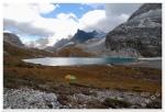 Mleczne Jezioro i nasz biwak (4500mnpm)