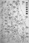 mapa okolic Bingzhongluo